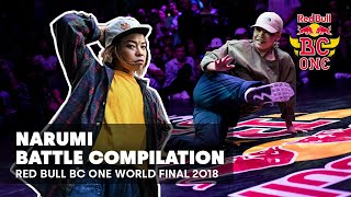 BGirl Narumi - kompilacja setów | Red Bull BC One World Final 2018