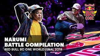 BGirl Narumi - kompilacja setów | Red Bull BC One World Final 2018