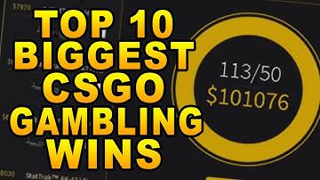 Top 10 Biggest CSGO Gambling Wins