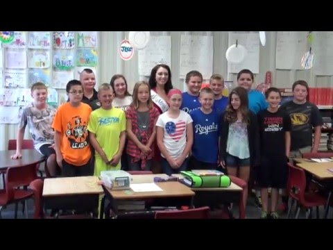 Miss Missouri Visits Hale School