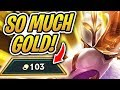 SO MUCH GOLD! | TFT | 100 Gold Challenge? | Teamfight Tactics | League of Legends Auto Chess