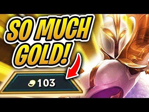 SO MUCH GOLD! | Hyper Econ - 100 Gold Challenge? | TFT | Teamfight Tactics | LoL Auto Chess
