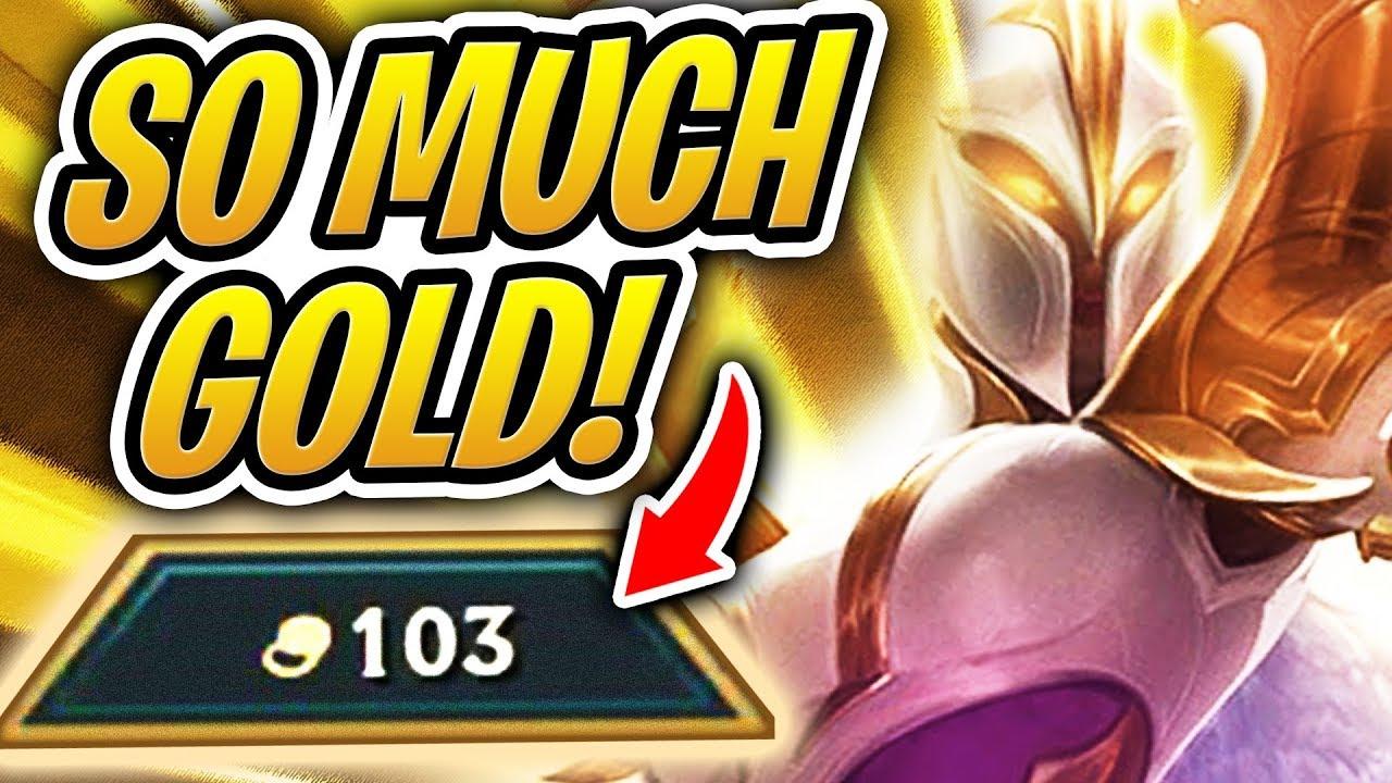 Kết quả hình ảnh cho teamfight tactics 100 gold