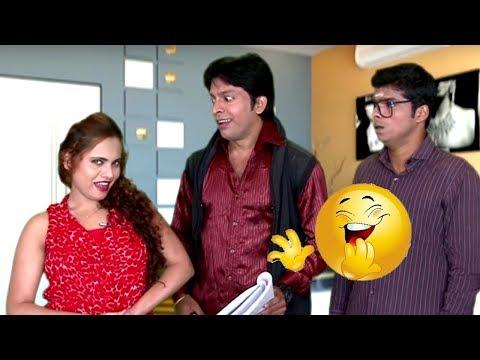 Khoobsurat Secretary ने किया Marketing | Funny Lady | Hindi Latest Comedy Jokes thumbnail