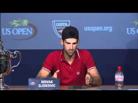 2011 US Open Press Conferences: Novak Djokovic (Finals)
