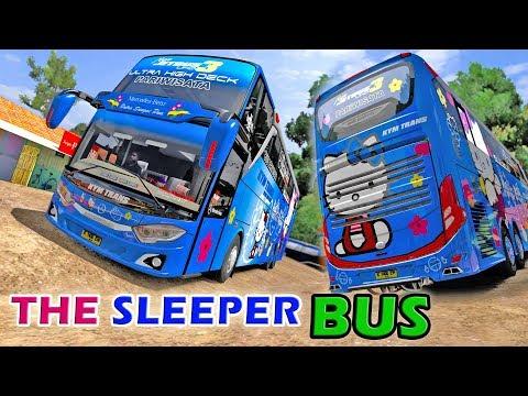 KYM Trans Sleeper Bus, Lewat Jalan Extreme Bikin Tidur Tak Nyenyak   ETS2 Mod Indonesia