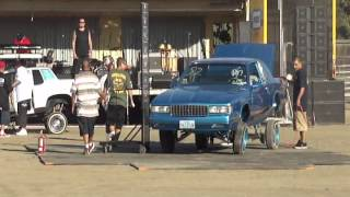 Lowrider Magazine Car Show Car Hop in Woodland, CA. 9-29-12