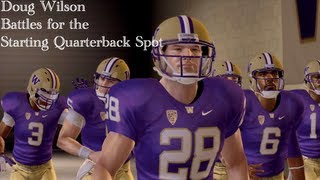 NCAA Football 13: RTG QB Doug Wilson | Battle for Starter (Ep.17)
