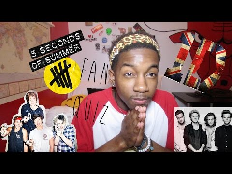5 Seconds of One Direction (5SOS/1D Quiz)