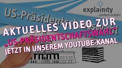 US-Präsidentschaftswahl 2016/17 einfach erklärt (explainity® Erklärvideo)