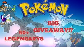 BIG PROJECT POKEMON GIVEAWAY!! Coming Soon - Includes 50+ Legendarys // Roblox Project Pokemon