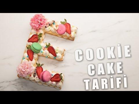 COOKİE CAKE TARİFİ - (Kurabiye Harf Pasta Tarifi) (Emre Özen)