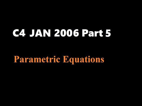 C4 2006 Jan (Part5 Q8)