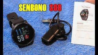 SENBONO S08 Smart Watch First look