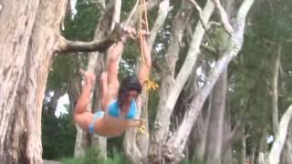 Sexy Michelle Jenneke falls again - this time in a bikini!
