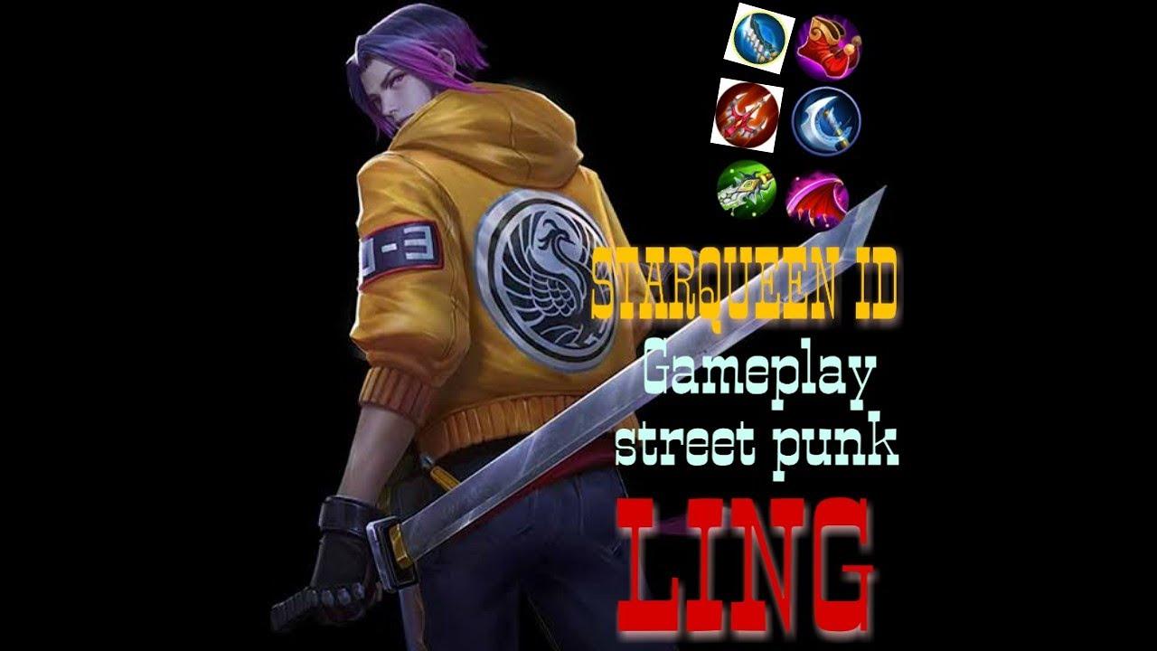 GAMEPLAY SKIN LING STREET PUNK - YouTube