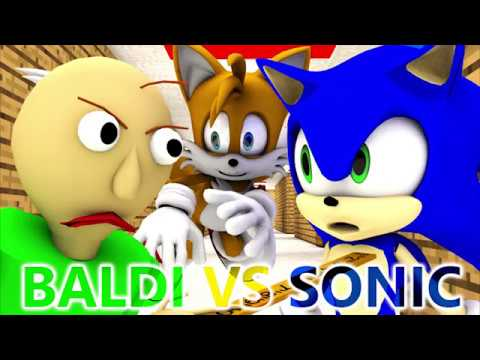 download BALDI'S BASICS VS SONIC (Official) Baldi Minecraft Animation Horror Game