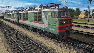 Trainz Railroad Simulator 2019 сценарий \Перегруз\ DLC Ростовский узел