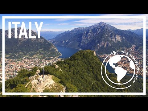 Climbing up mount Barro on Lake Como - Sony A6000 video test -  A Wop back home - The Traveling Wop