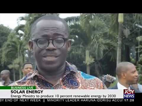 Solar Energy - Business Live on JoyNews (5-10-17)