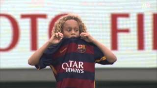 【ハイライト】FCバルセロナ×東京都U-12「U-12ジュニアサッカーワールドチャレンジ 準決勝2015」