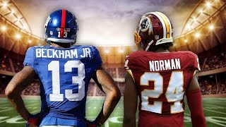 Odell Beckham Jr. & Josh Norman Feud Over?