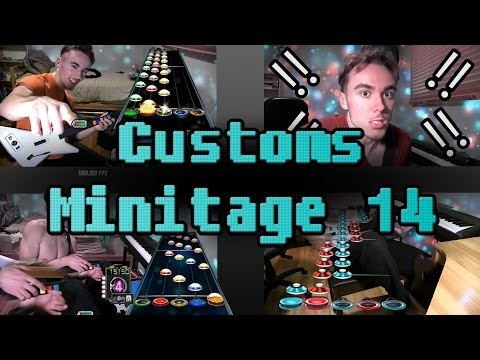 Custom Song Mini-Montage 14! (Guitar Hero 3 PC) (UFO Uber Solo, Spacial Extremes trills, and more!)