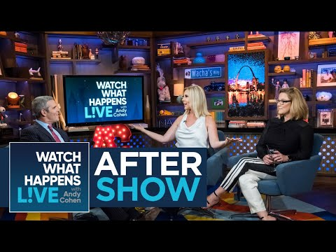 After Show: Vicki Gunvalson Whooped It Up With Ramona Singer | RHOC & RHONY | WWHL