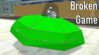 Using Glitches to Mąke a UFO in Dream Car Builder