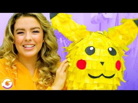 Super Easy & Fun DIY Indoor Activities For Kids   Adorable Pikachu Piñata DIY! GoldieBlox