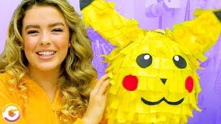 Adorable Pikachu Piñata DIY! GoldieBlox