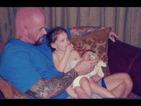 Photo of Mark Calaway & his  Daughter  Kaia Faith Calaway