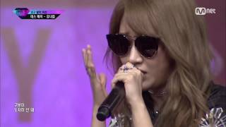 [Death Match] 160902 The Ark Yuna Kim - Denial @ Unpretty Rapstar 3 (1080p/60FPS)