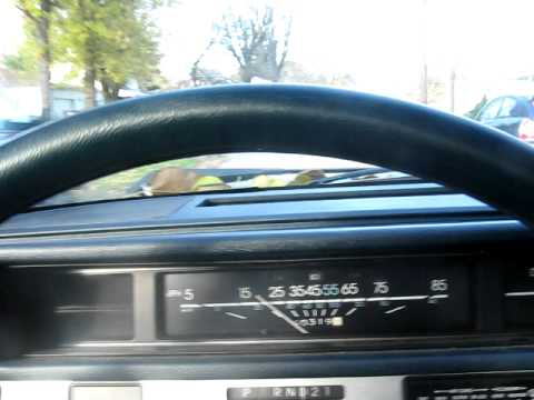 Short Drive In The 1986 Chevy Celebrity