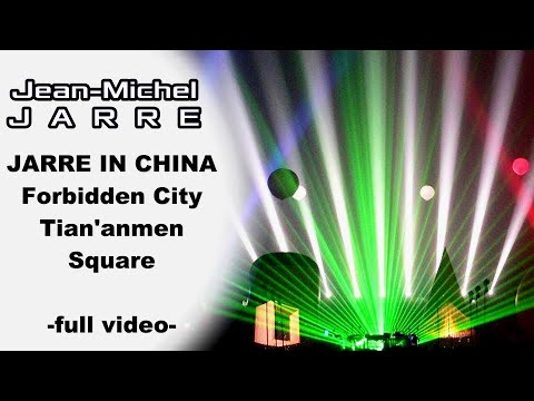 JEAN MICHEL JARRE CHINA BEIJING Forbidden City & Tian'anmen Square [upscale 1080p HD]