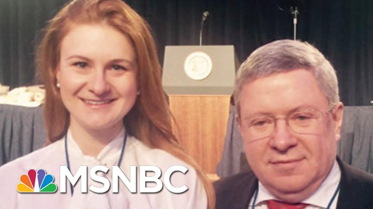 Butina Case Raises Questions On Russia's Role In Rex W. Tillerson Pick | Rachel Maddow | MSNBC