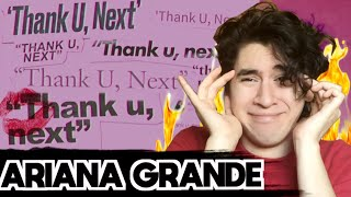 Ariana Grande - thank u, next [REACCION]