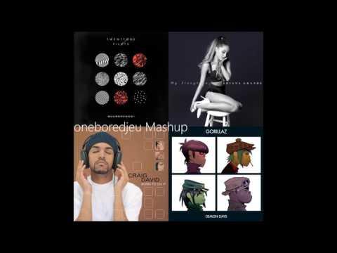 Stressed Out November - Twenty One Pilots Vs. Ariana Grande, Craig David, & Gorillaz (Mashup)
