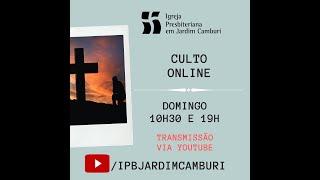 Culto Matutino - 26/04/2020   A dificuldade das divisões e a bem-aventurança da união