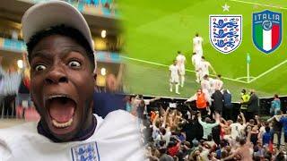 I CRIED ENGLAND vs ITALY EURO 2020 FINAL FOOTBALL MATCH HIGHLIGHTS