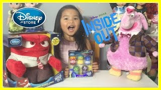 NEW Disney Pixar INSIDE OUT Toys-Bing Bong Plush, Talking Anger Plush, & Emotions Lip Balm Set