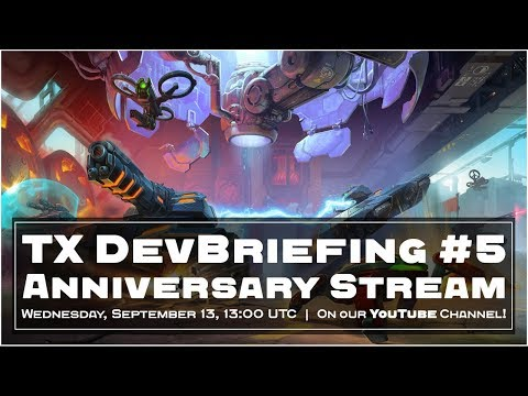 Tanki X: Live DevBriefing #5 - Anniversary Stream