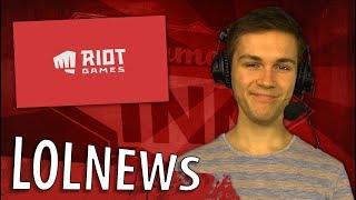 Faker mit Titel &amp neues Riot Logo! LoL News mit Sola