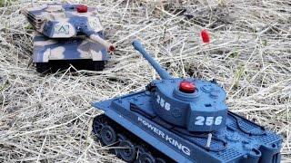 Танковый бой (игра) / Tank battle(Демонстрация возможностей детской игры