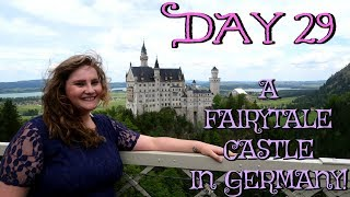 NEUSCHWANSTEIN FAIRYTALE CASTLE IN GERMANY! | EUROPE TRAVEL VLOG | DAY 29 thumbnail