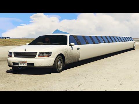 WORLD'S LONGEST CAR MOD! (GTA 5 Funny Moments)