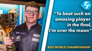 Keane Barry REACTS to BDO World Youth Title Win |