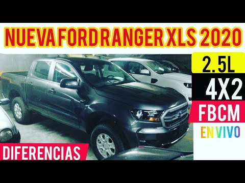 Nueva Ford Ranger XLS 2020 (Gasolina 4X2 Vs Diesel 4x4) En Vivo