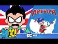 Teen Titans Go! | USA vs UK | DC Kids