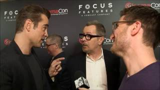 Gary Oldman and Colin Farrell meet at CinemaCon 2017